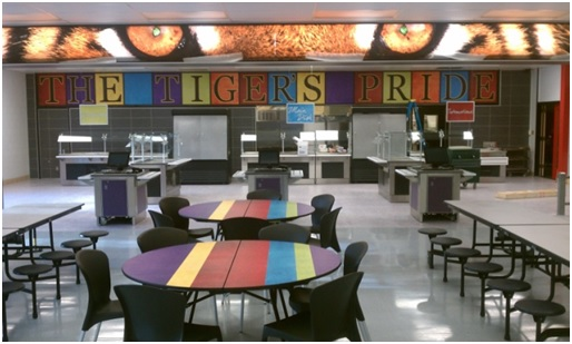 Cafeteria Tables Can Change The Whole School Atmosphere