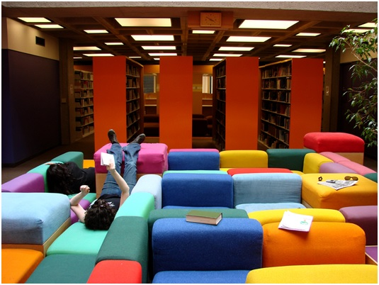 Brodart Modern Comfortable Stylish Library Seating